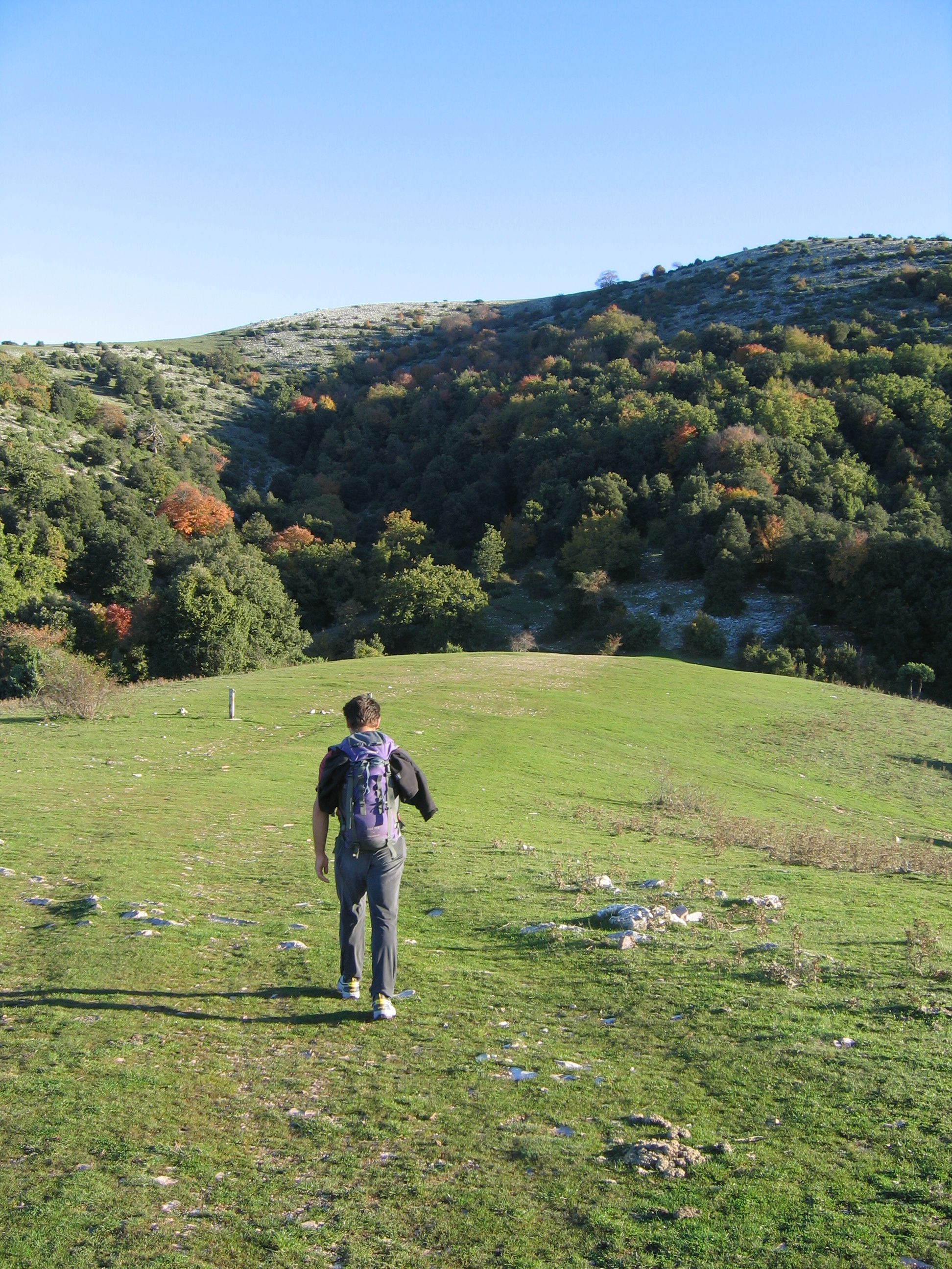 Stefano Zavka sul Martani Trekking